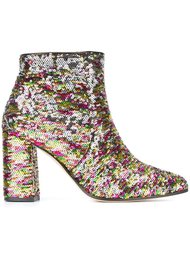 sequined ankle boots Bams