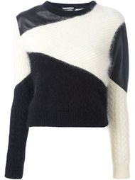 colour block jumper Fausto Puglisi