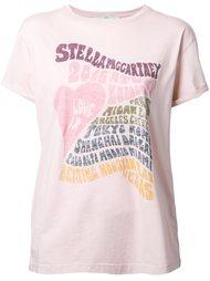 футболка 'Love in London'  Stella McCartney