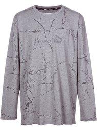 'Puma x STAMPD' cracked mud print sweatshirt Stampd