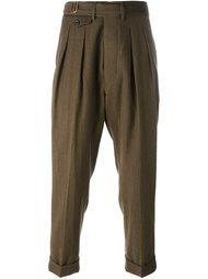 классические брюки со складками Lardini
