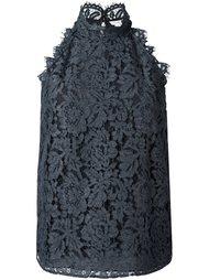 блузка с цветочной вышивкой Diane Von Furstenberg