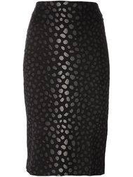 jacquard pencil skirt Samantha Sung