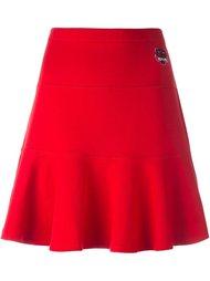 юбка с расклешенным подолом Kenzo