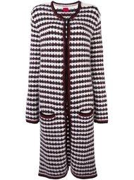 woven long cardi-coat Moncler Gamme Rouge