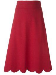юбка с оборками  Red Valentino