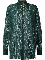 embellished lace shirt  Nº21