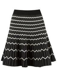 knit skirt Egrey