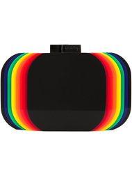 rainbow layered clutch bag Sarah's Bag