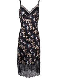 платье с узором Diane Von Furstenberg