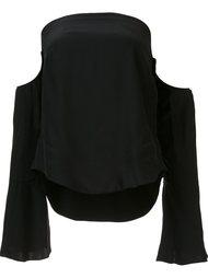 блузка с открытыми плечами Piamita