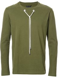 drawstring detail longsleeved T-shirt Craig Green