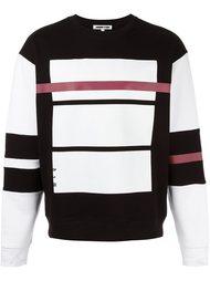 Red Line print sweatshirt  McQ Alexander McQueen