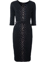jacquard fitted dress Samantha Sung