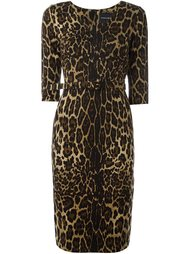 leopard print dress Samantha Sung
