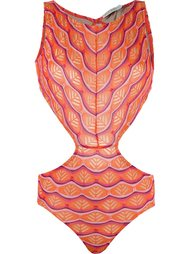 panelled swimsuit Cecilia Prado