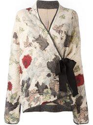 кардиган-кимоно с запахом Antonio Marras