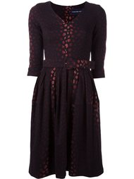 jacquard flared dress Samantha Sung