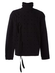 perforated sweatshirt  Damir Doma
