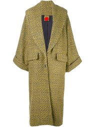 plaid oversized coat Ultràchic