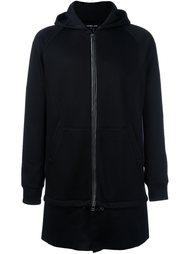 long zipped hoodie Helmut Lang