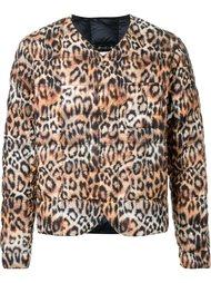 leopard print jacket DressCamp