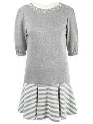 embelished knitted dress Andrea Bogosian