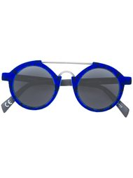 round framed sunglasses Italia Independent