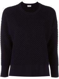 вязаный стеганый свитер  Moncler
