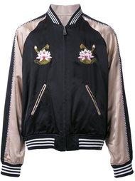 куртка-бомбер 'Satin Souvenir' G.V.G.V.