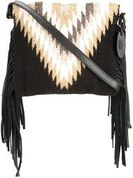 сумка на плечо с бахромой Manos Zapotecas