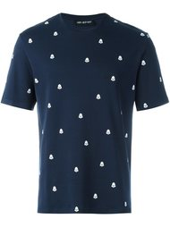футболка с узором Neil Barrett