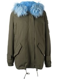 fur trim parka  Forte Couture