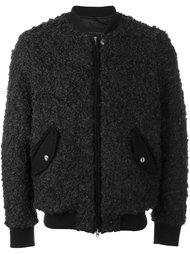 zipped bomber jacket  Christian Pellizzari