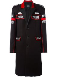 patched military coat KTZ