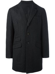 padded button coat Aspesi