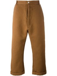 flared cropped trousers Sunnei