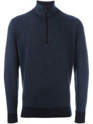 свитер с контрастной отделкой Loro Piana
