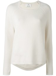 ribbed crew neck jumper Allude