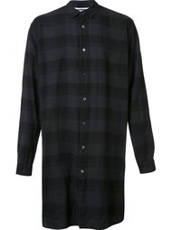 'The Long Plaid' shirt Robert Geller