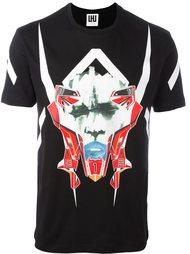 mask print T-shirt Les Hommes Urban