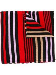 полосатый шарф дизайна колор-блок  Sonia Rykiel