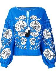 блузка с вышивкой Yuliya Magdych