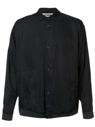 'The Cupro' shirt jacket Robert Geller