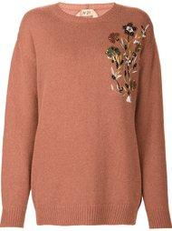 sequin embellished jumper Nº21