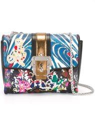 contrast print satchel bag Paula Cademartori