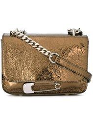 safety pin detail crossbody bag Sonia By Sonia Rykiel