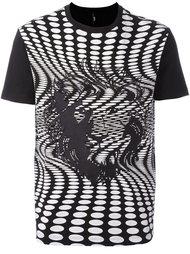logo print T-shirt Versus