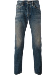 джинсы с потертостями Simon Miller