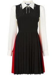 colour block shirt dress Sonia Rykiel